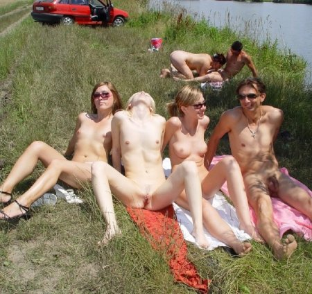 Amateur Swinger Orgy On The Nude Beach